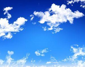 Почему небо голубого цвета?